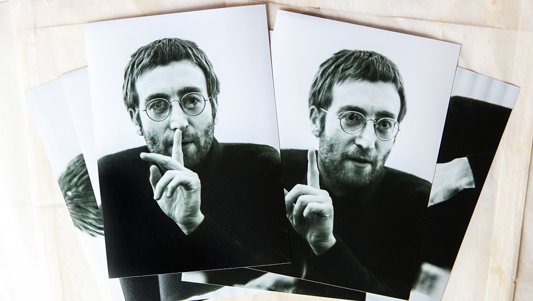 John Lennon images are uncovered