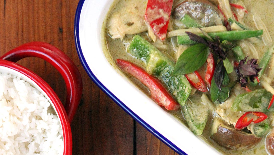 Rosa's Thai Green Curry