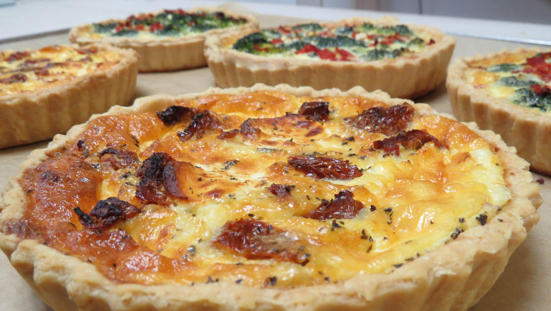 Rough Hand Made Quiche