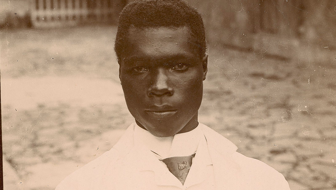 Young Negro from Saint-Pierre - (c) Private Collection