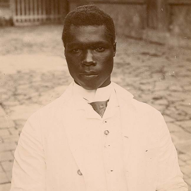 Ink and Blood - Young Negro from Saint-Pierre - (c) Private Collection