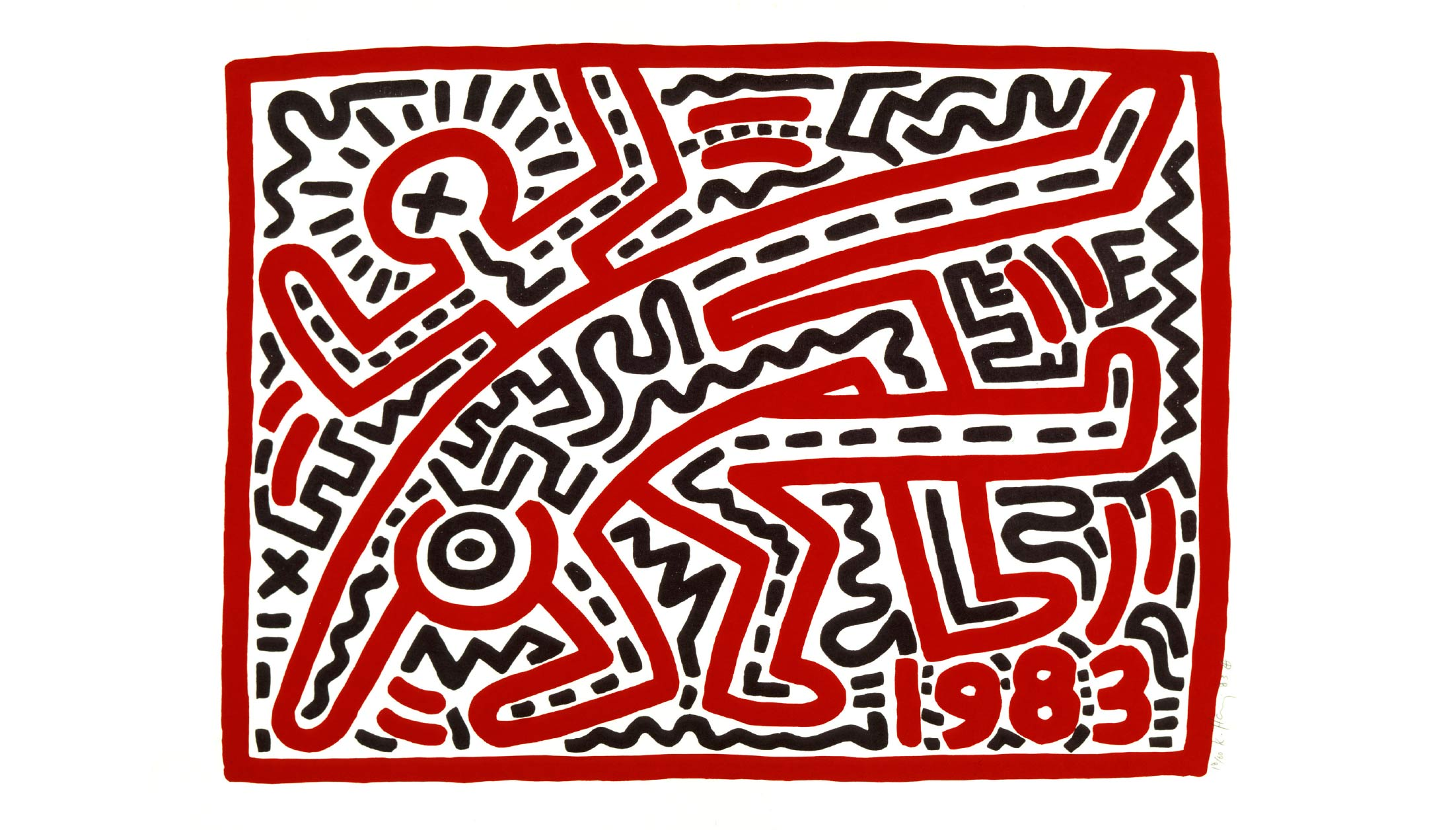 Keith Haring at the Tate Liverpool