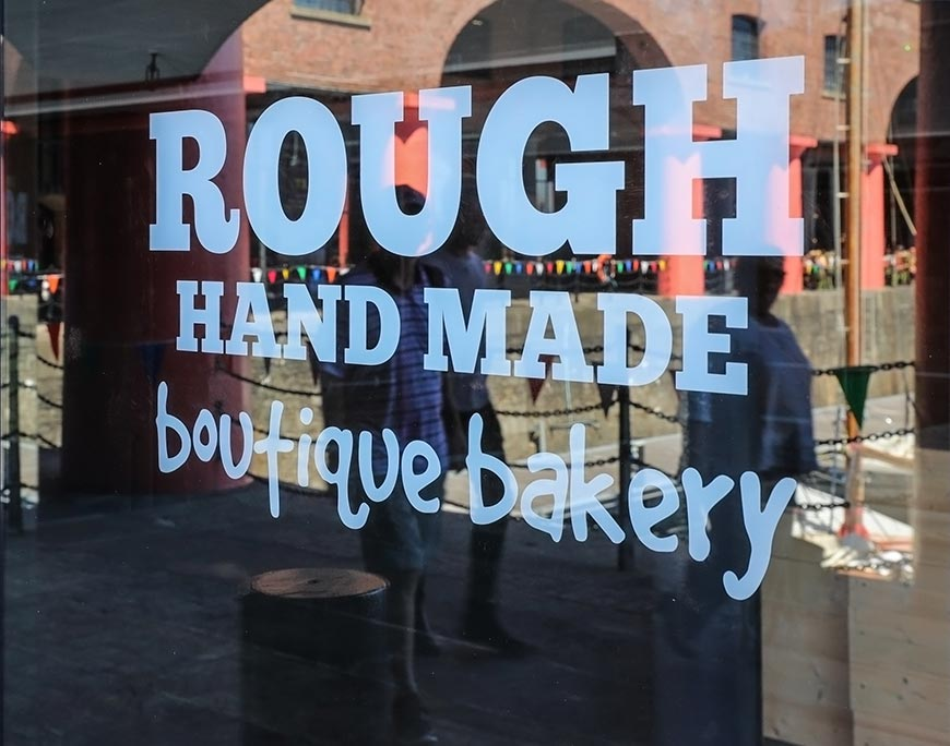 Rough Hand Made - shop signage