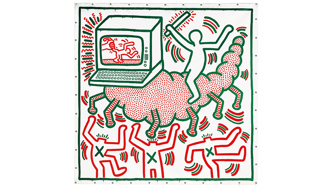 © Keith Haring Untitled 1983