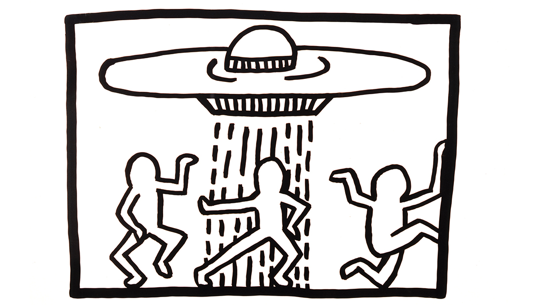 © Keith Haring Untitled 1980
